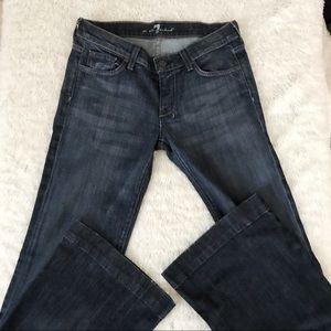 7fam glitter chain embellished Dojo jeans 28